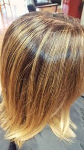 hair style with highlights