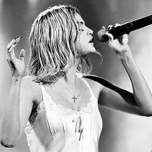female musician singer